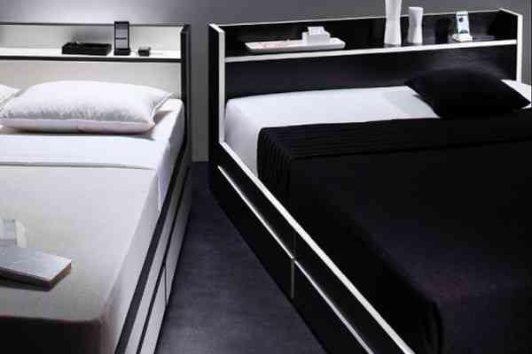 ベッド 黒