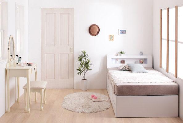短いベッド