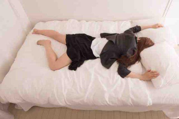 一人暮らし ダブルベッド