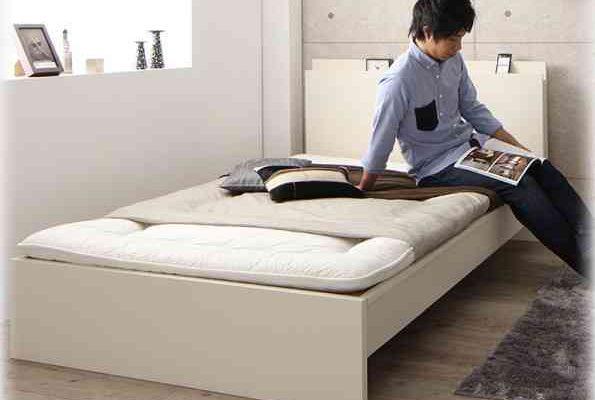ベッド 布団 敷く