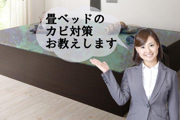 畳ベッド カビ